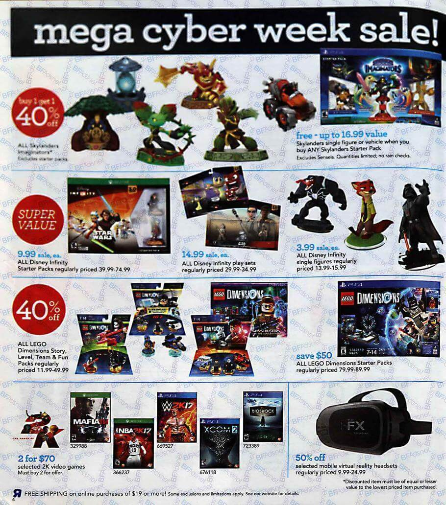 Alien Bees Black Friday Sale: Toys R Us Cyber Monday 2016 Ad