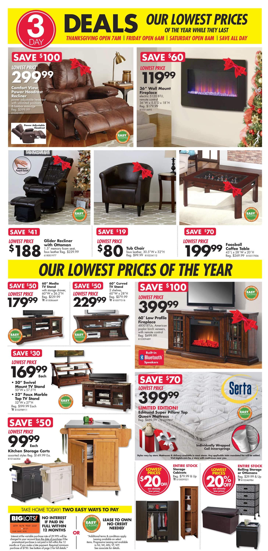 Big Lots Black Friday Ad 2016