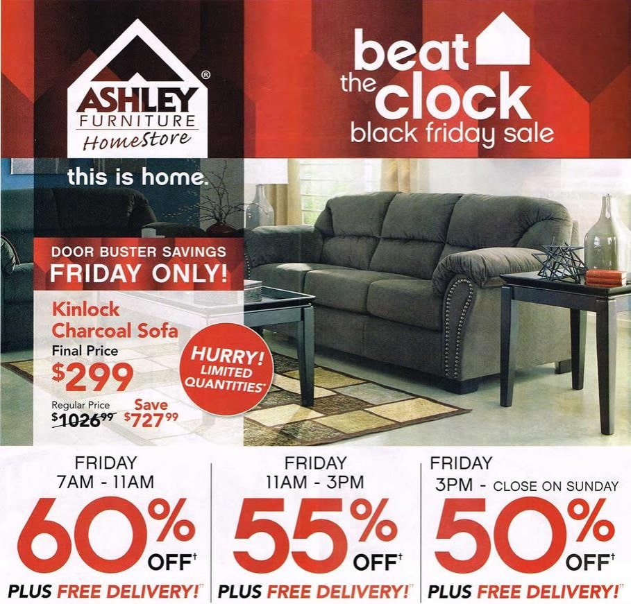 Sales Furniture: Ashley Furniture Black Friday Ad 2015