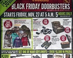 Cabela's 2015 Black Friday Ad