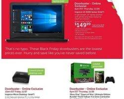 Dell Home 2015 Black Friday Ad