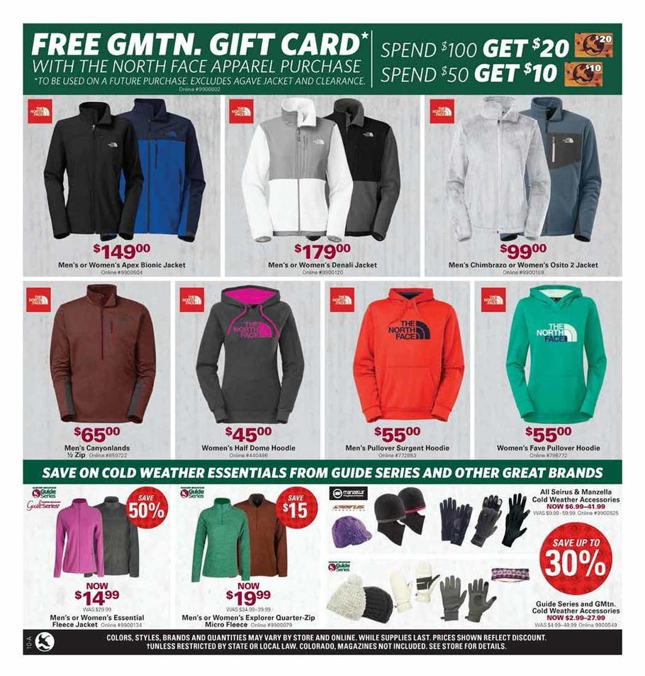 North Face Black Friday Sale