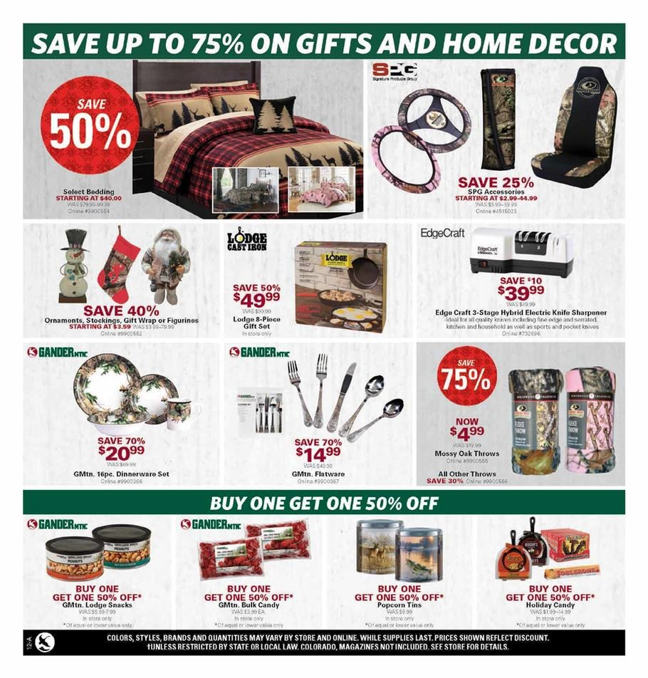 Gander mountain black friday ad 2015 for Black friday fishing deals