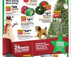 Home Depot Black Friday Ad 2015