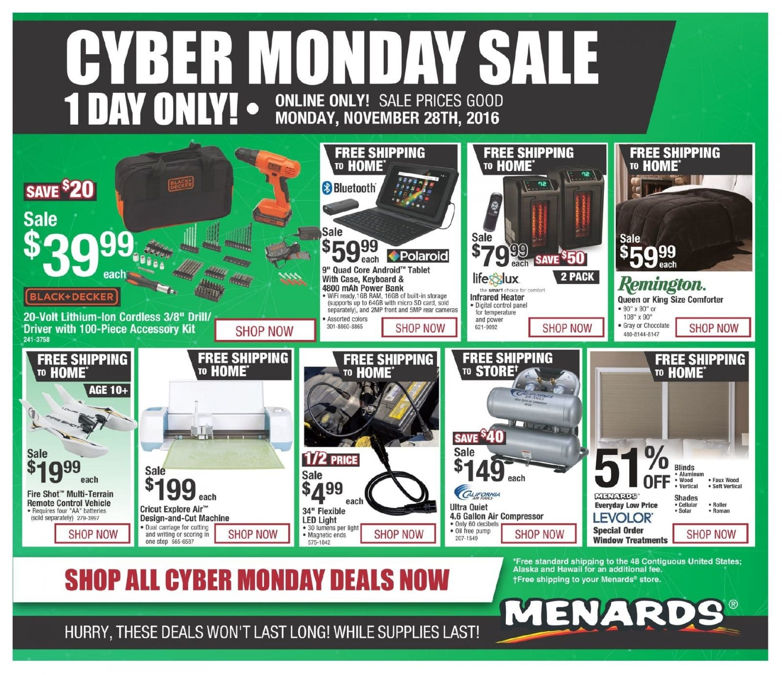 Uncategorized Black Friday Ad Menards menards cyber monday 2016 ad monday
