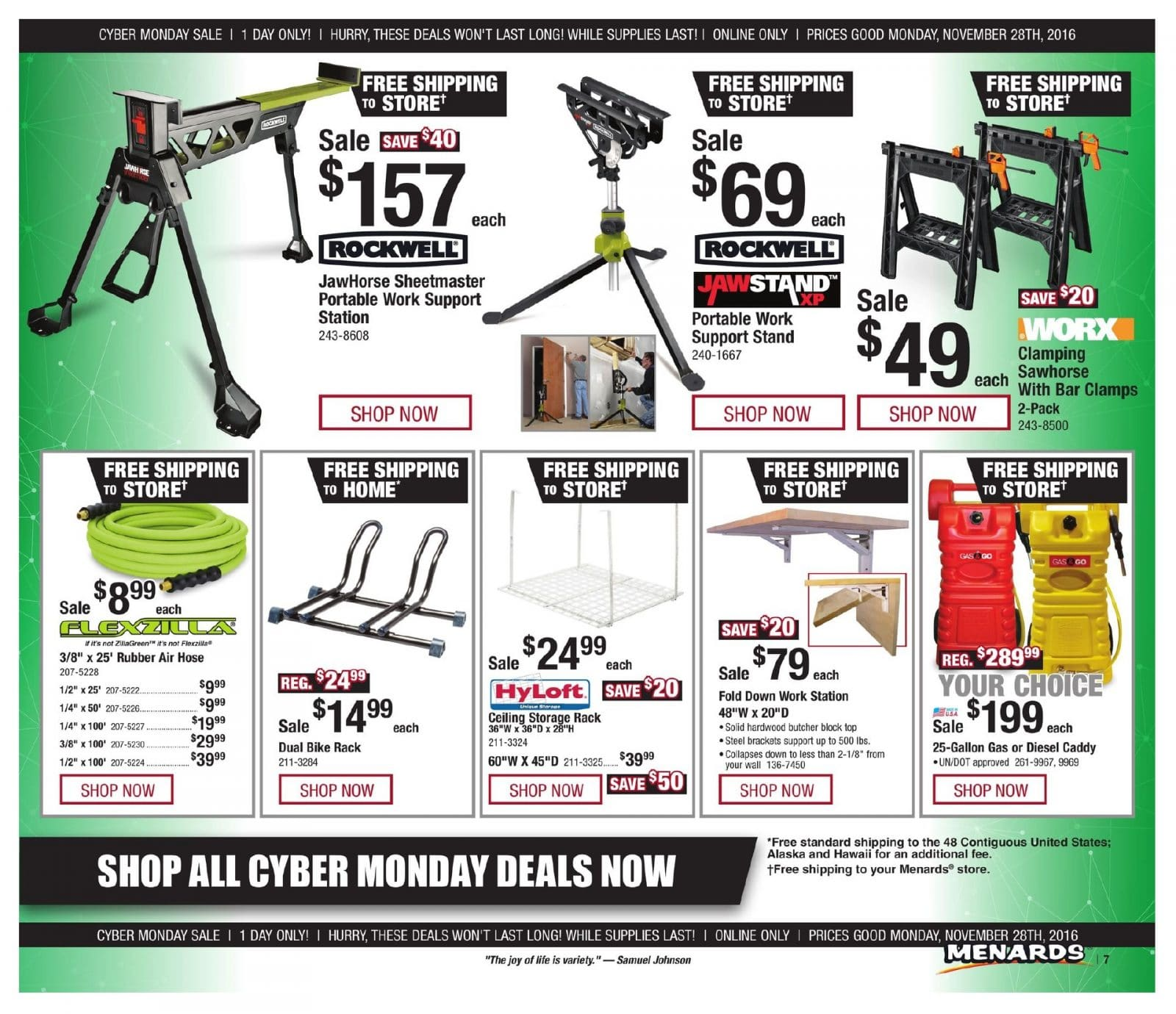 View your Online Only Menards online. Find sales, special offers, coupons and more. Valid from Nov 26 to Dec