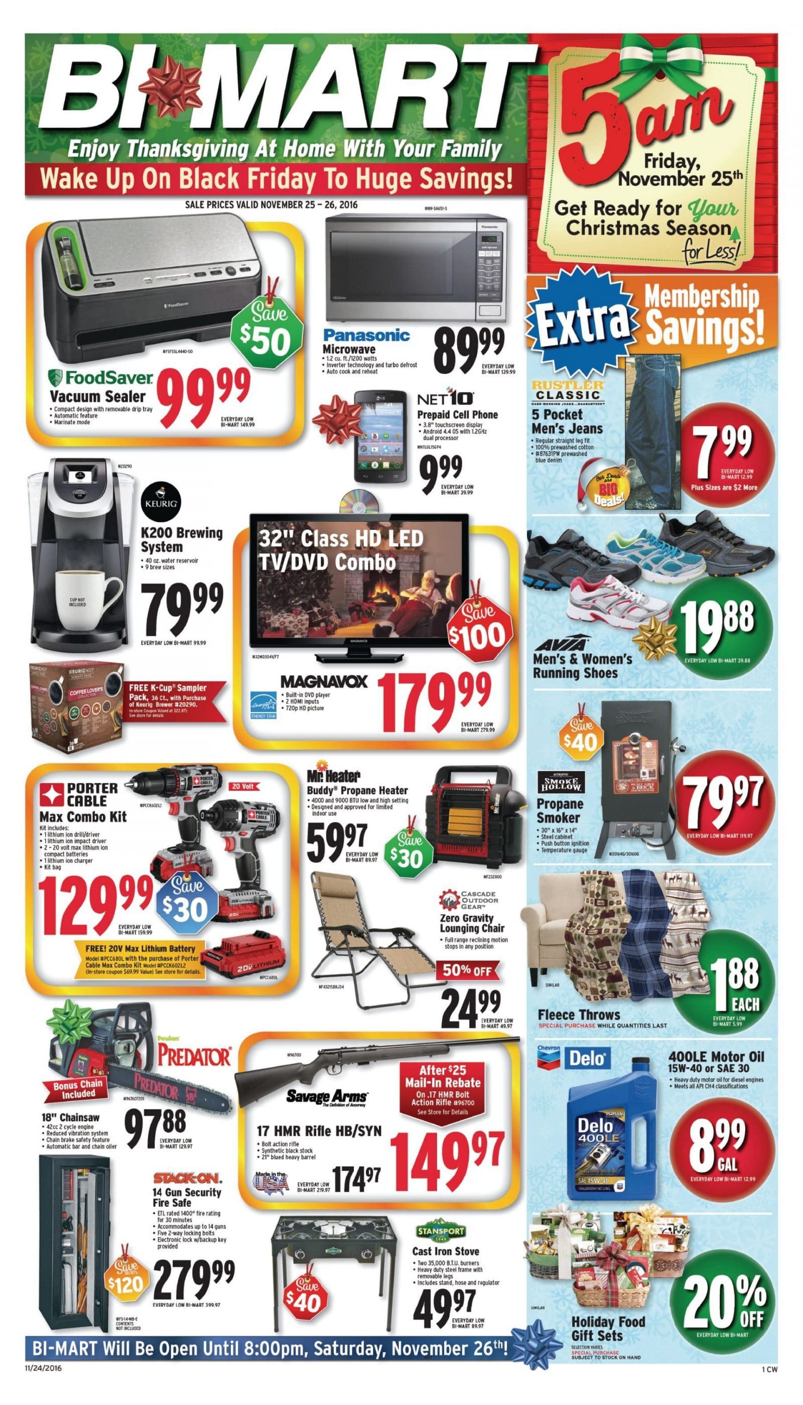 Bi Mart Black Friday Ad 2016