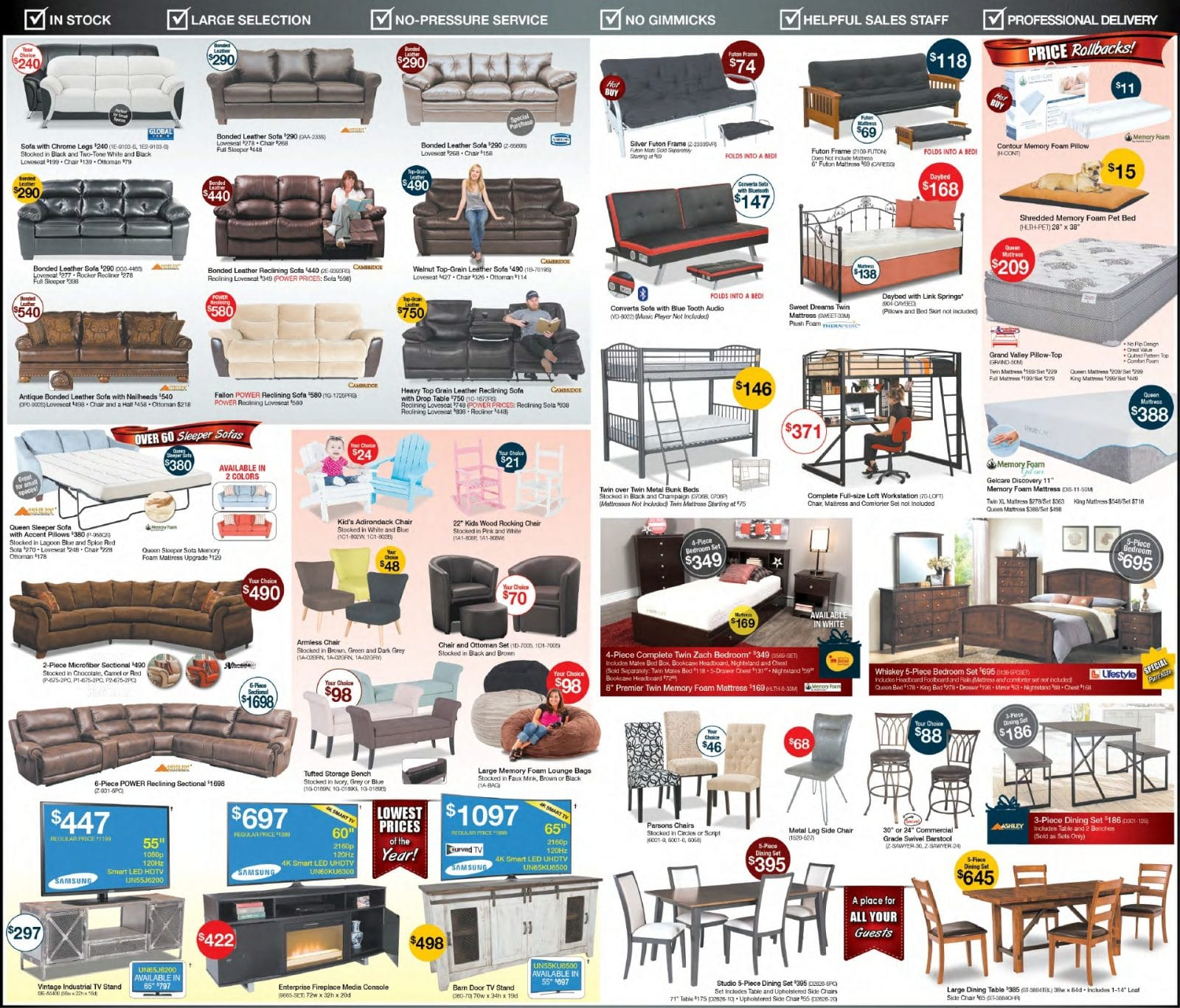Furniture Store Ads: American Furniture Warehouse Black Friday Ad 2016
