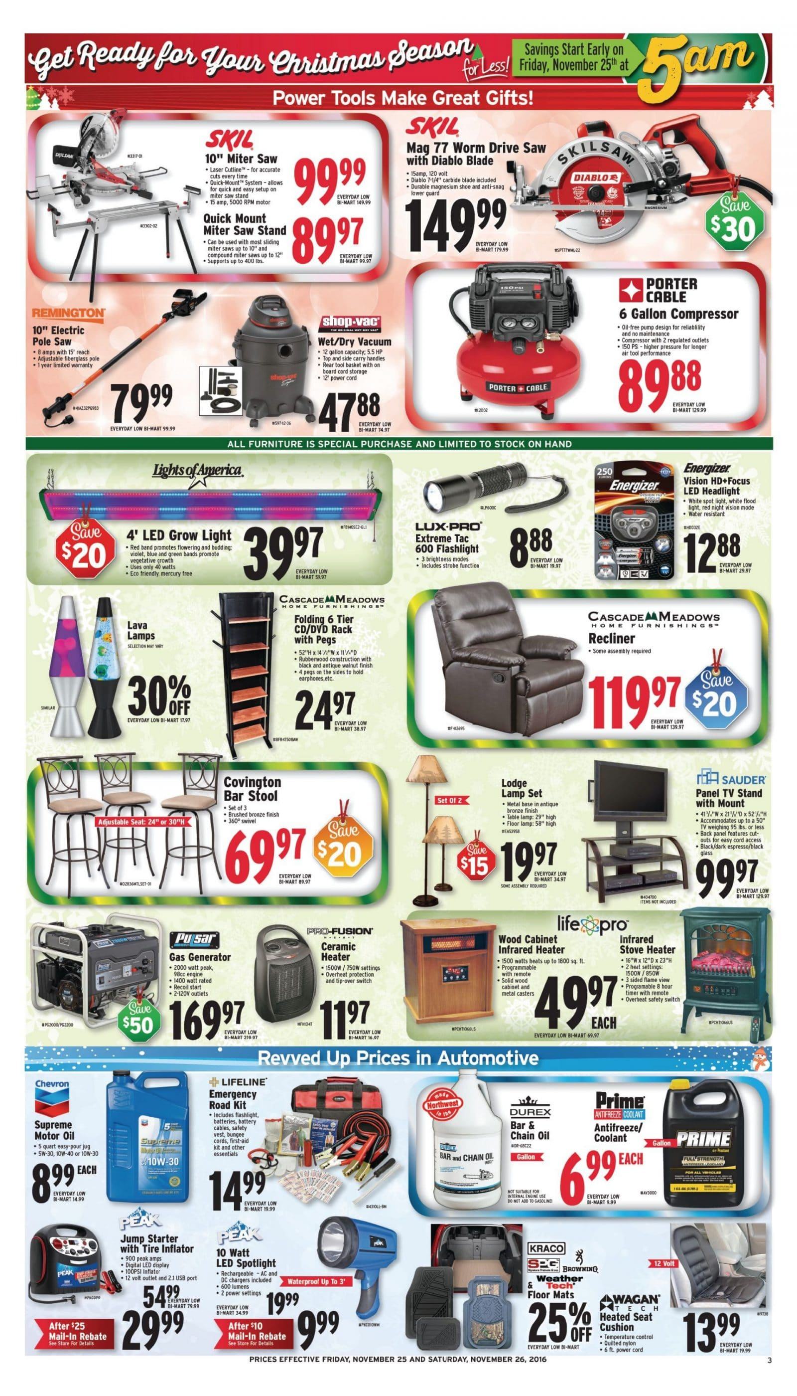 Bi Mart Black Friday Ad 2016