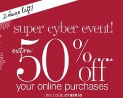Stage Cyber Monday 2016 Ad