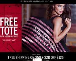 Victoria's Secret Cyber Monday 2016 Ad