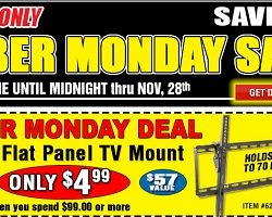 Harbor Freight 2016 Cyber Monday