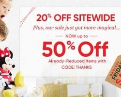 Disney Store Black Friday Ad 2016