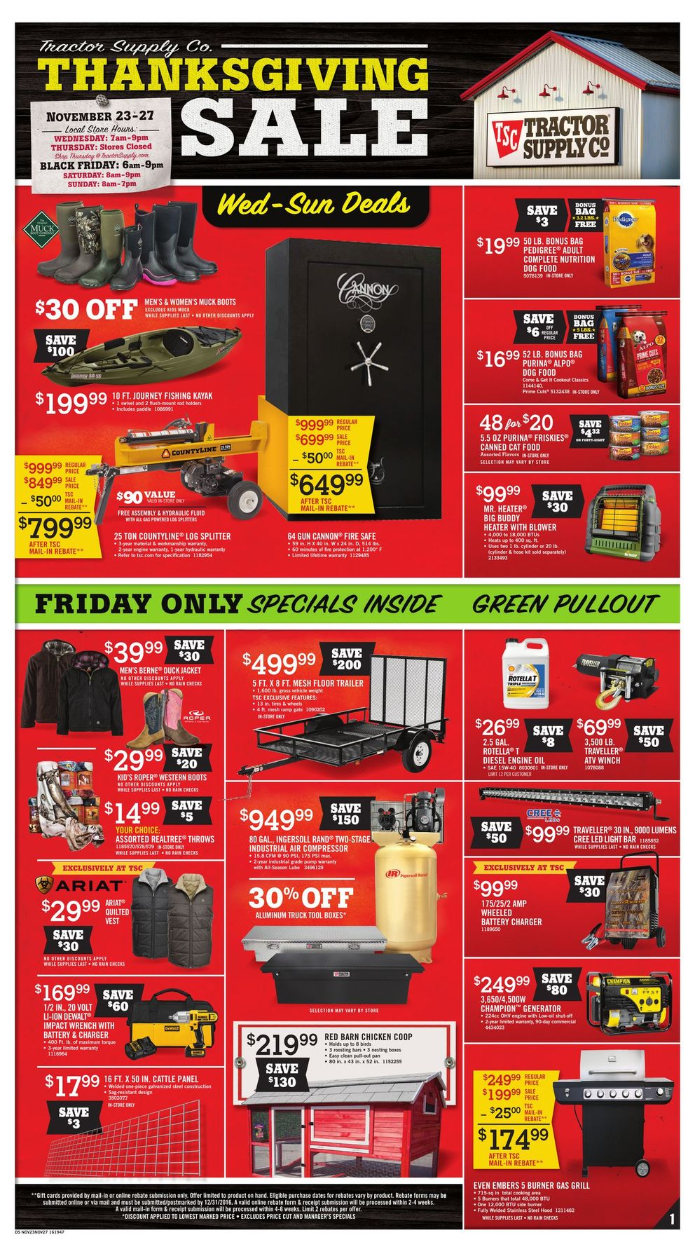 Tsc Tractor Supply Catalog : Tractor supply black friday ad