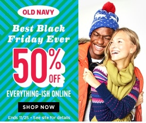 Old Navy 2016 Black Friday Ad