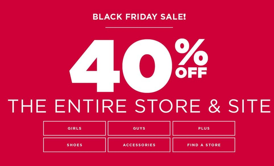 rue 21 black friday store hours. Today s top rue21 coupon rue21 coupons & promo codes. Rue21 Coupons & Promo Codes for 25% off. All Coupons (15) online & in-store! save up to.