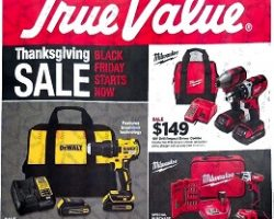 True Value Black Friday 2017