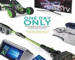 Sam's Club 1-Day Sale Ad 2017