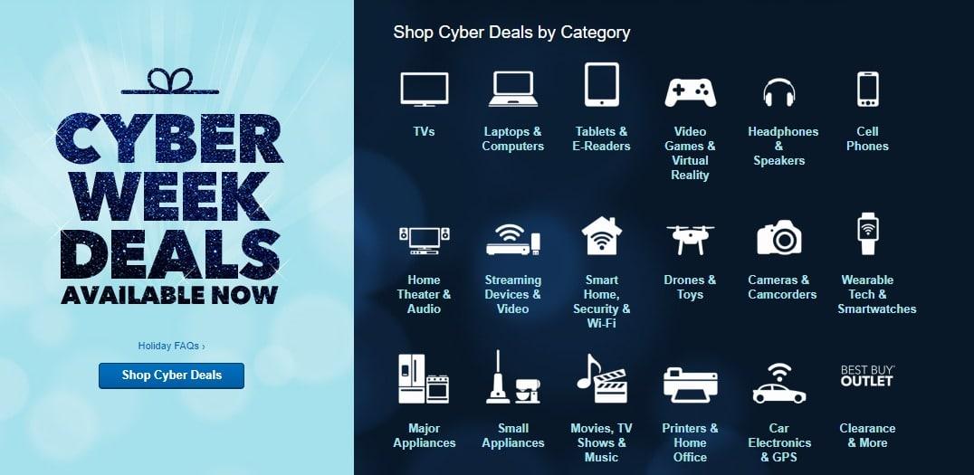 Best Buy Cyber Deals