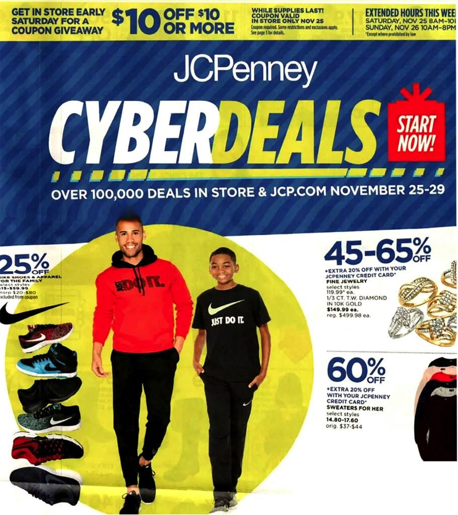 JCPenney Cyber Deals