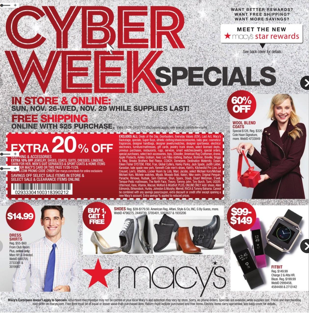 Macy's Cyber Deals