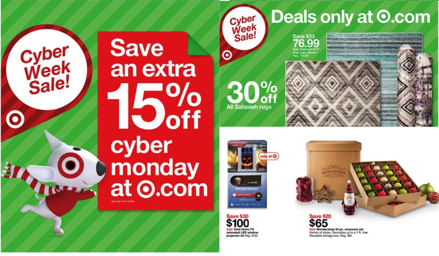 Target Cyber Monday 2017