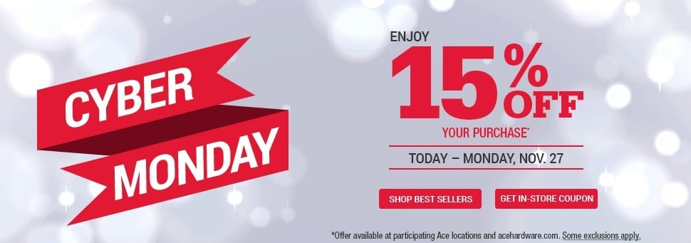 Ace Hardware Cyber Monday Ad 2017
