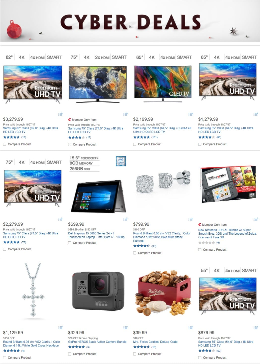 Costco Cyber Deals