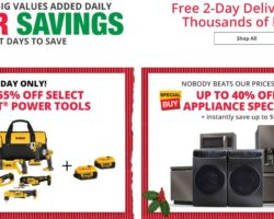 Home Depot Cyber Monday Ad 2017