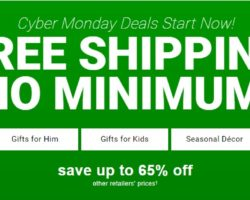 Burlington Coat Factory Cyber Monday 2017 Ad