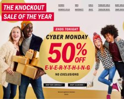 Old Navy Cyber Monday Ad 2017