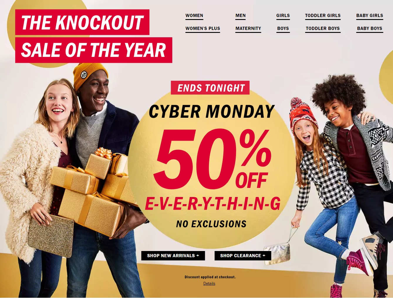 Old Navy Black Friday 2018