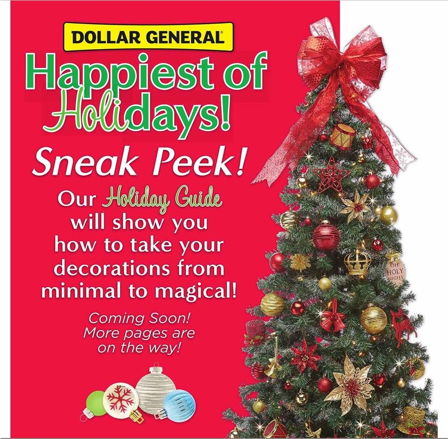 Dollar General Holiday Book 2018