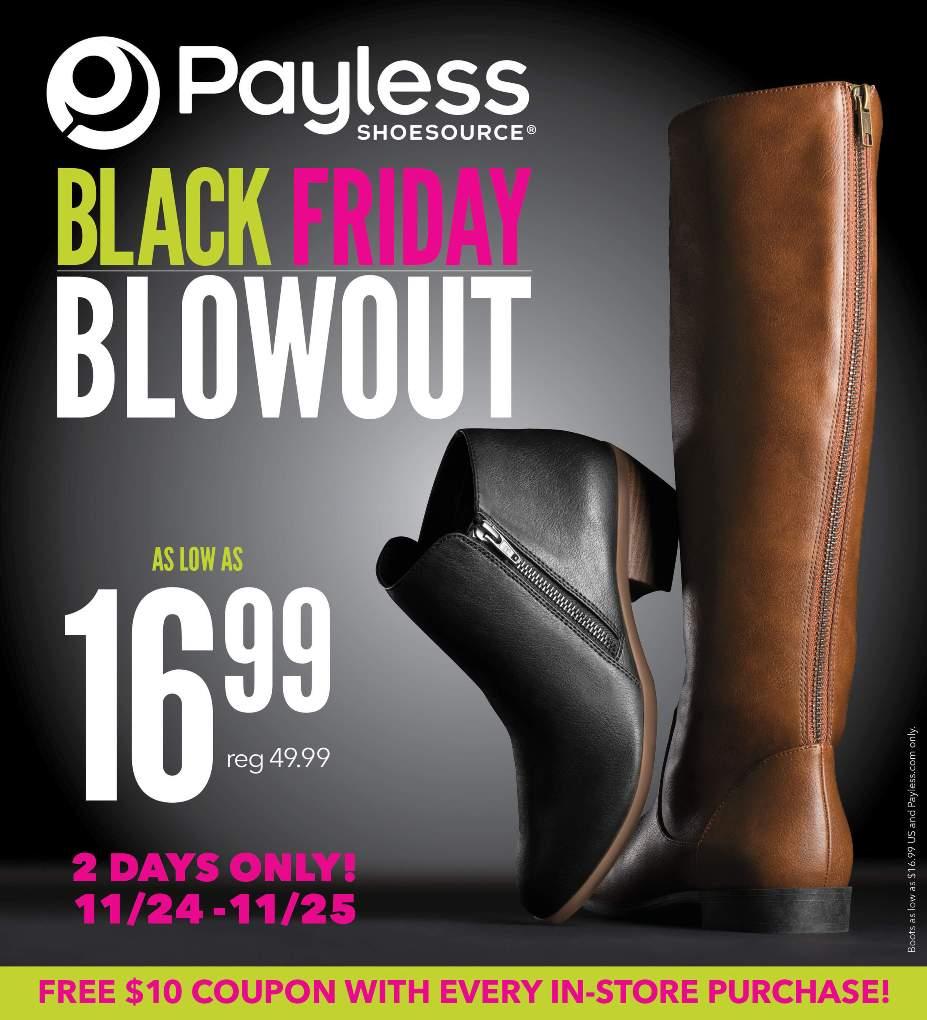 Payless Black Friday 2016 Ad