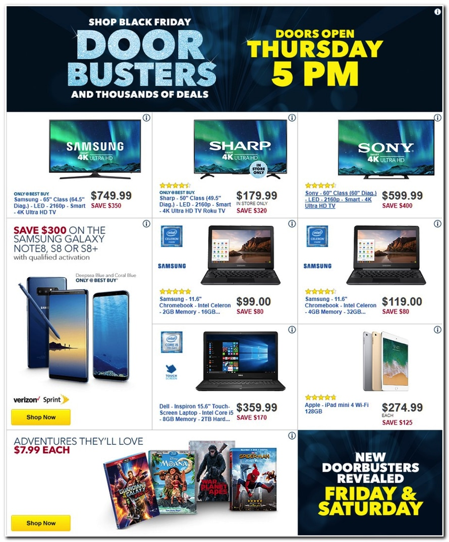 online store 6fc87 2d40e Best Buy Black Friday Ad 2017
