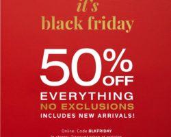 GAP Black Friday Ad 2017