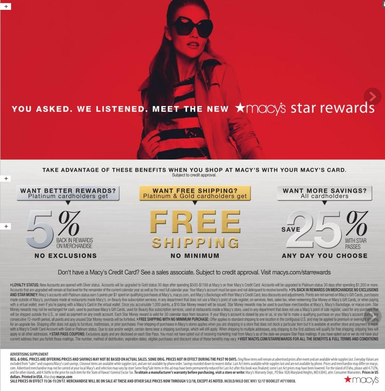 Macy\'s Cyber Monday Ad 2017