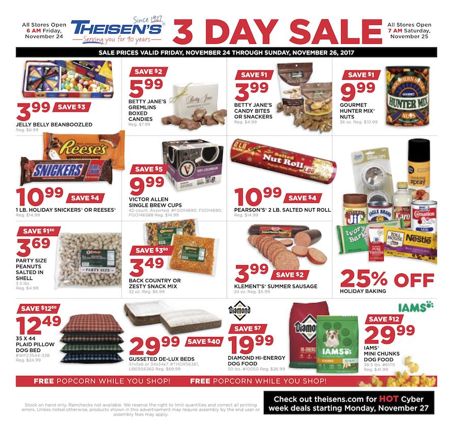 Theisen S Black Friday Ad 2017