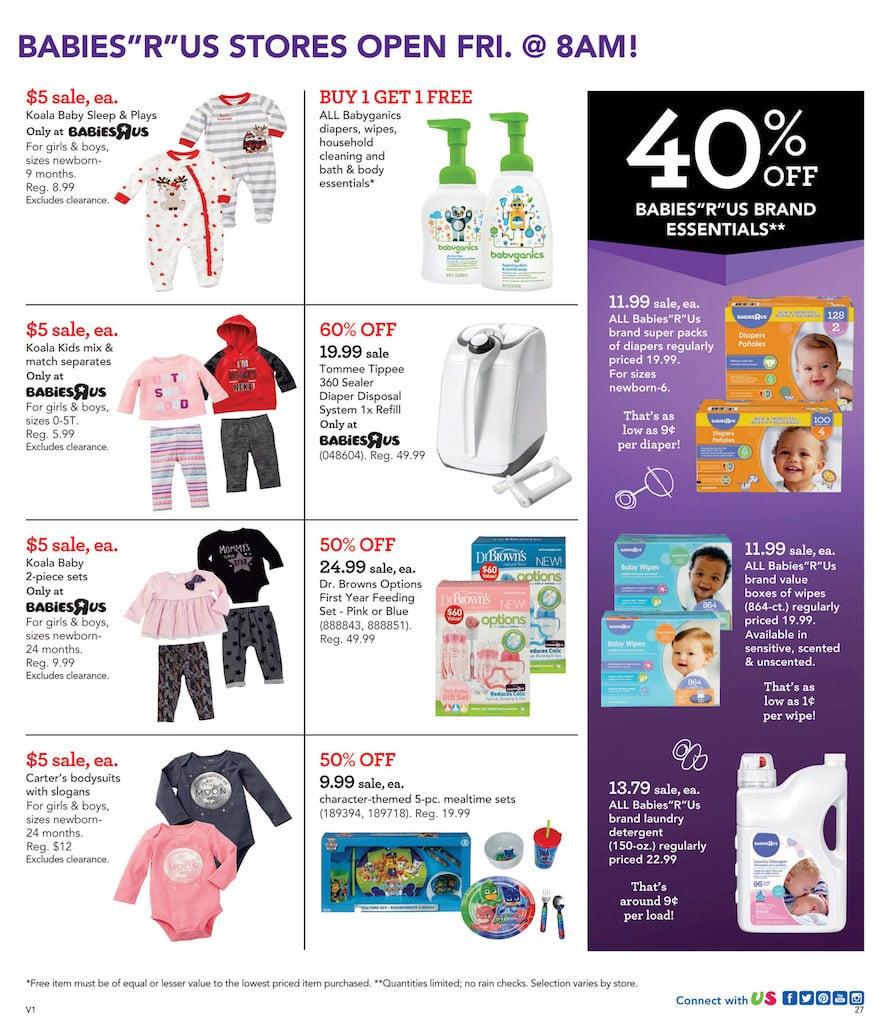 Babies R Us Black Friday Ad 2017