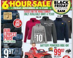Bass Pro Shops Black Friday Ad 2017