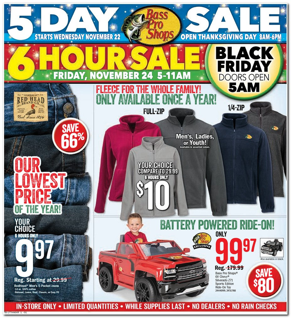 Bass pro shops black friday ad 2017 for Black friday fishing deals