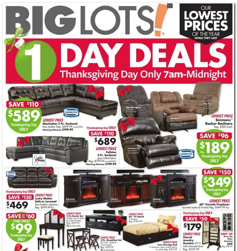 Big Lots Black Friday Ad 2017