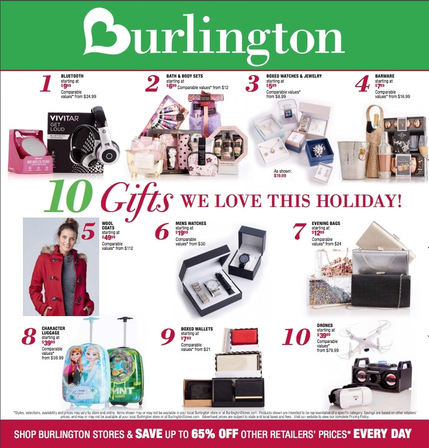 Burlington Coat Factory Home Decor: Burlington Coat Factory Black Friday Ad 2017