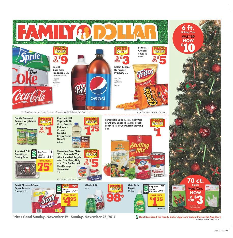Family Dollar Black Friday Ad 2017