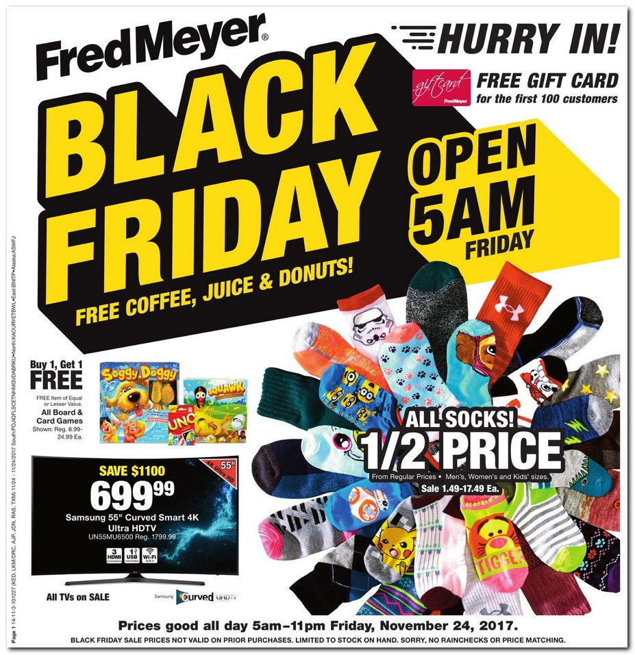 Fred Meyer Black Friday Ad 2017