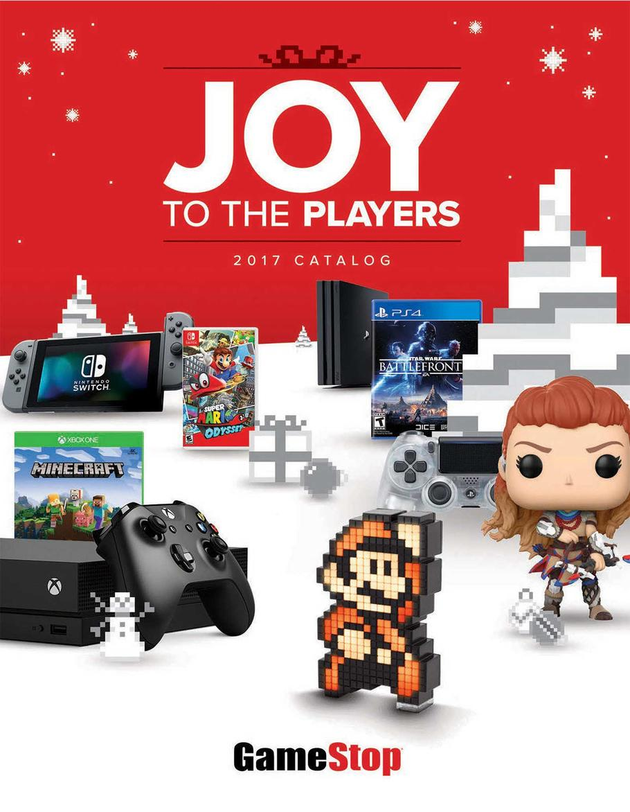 Gamestop Holiday Book 2017