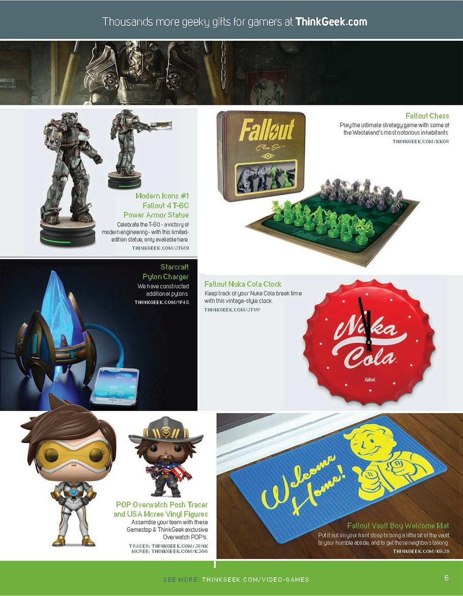 GameStop Holiday Book Ad 2017