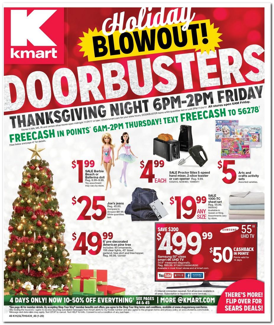 Kmart 2017 Black Friday