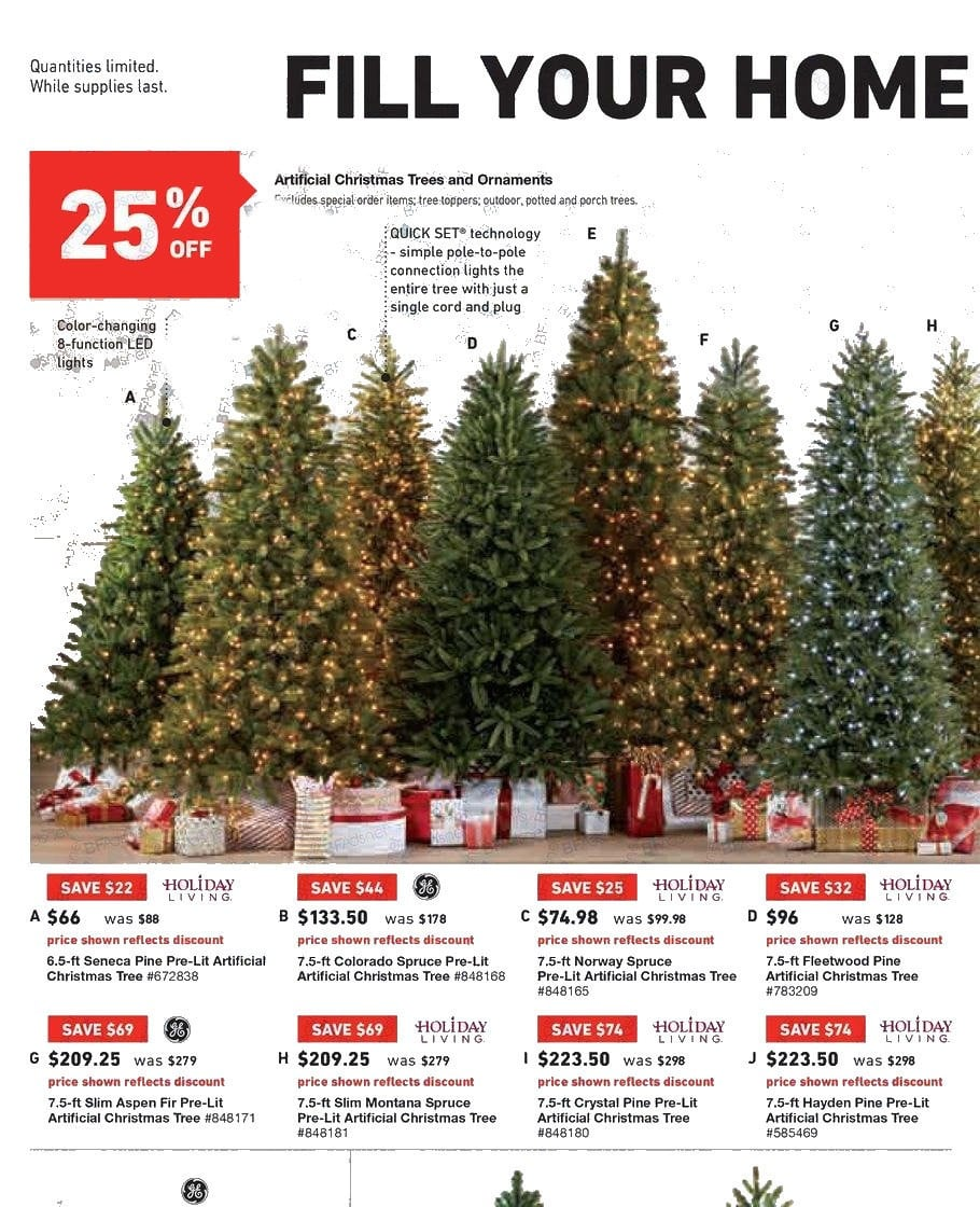 dont miss the current lowes sale ad for refrigerators dishwashers or christmas trees - Lowes Christmas Tree Sale
