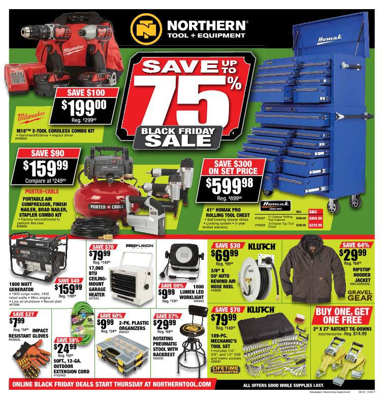 northern tool black friday ad 2017